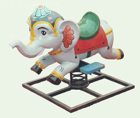 Rocker Elephant Portable