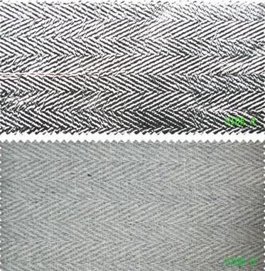Aramid Blended Fabric With Aluminum Film