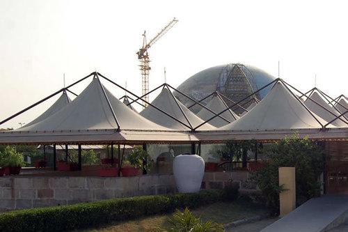 Pagoda Galvanized Structure