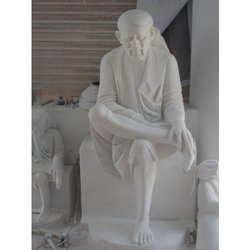 Marble Statue Of Sai Baba In Jaipur Rajasthan India