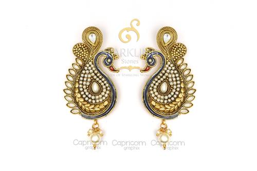 Bandhai Earrings