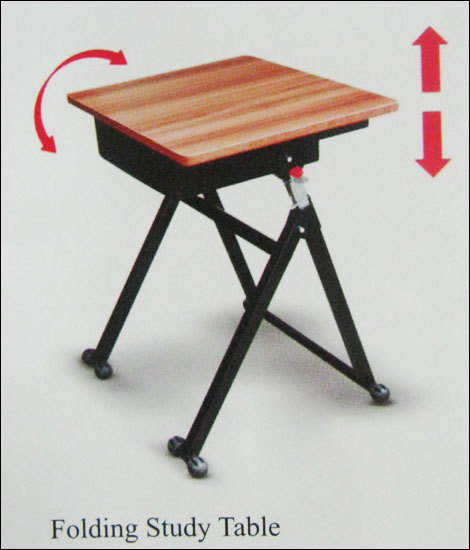 Folding Study Tables in Mumbai, Maharashtra, India - PITRODA FURNITURE ...