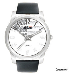 Promotional Round Dial Wrist Watch