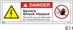 Electrical Safety Decals