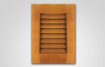 Solid wood louvered shutter in kolkata west bengal india - Unfinished wood shutters interior ...