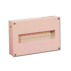 Single Door M.S. Distribution Box
