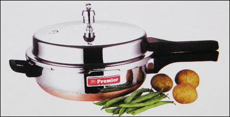 Copper Bottom Pressure Pan