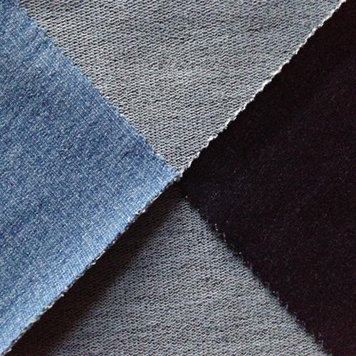Indigo Knit Denim Fabric