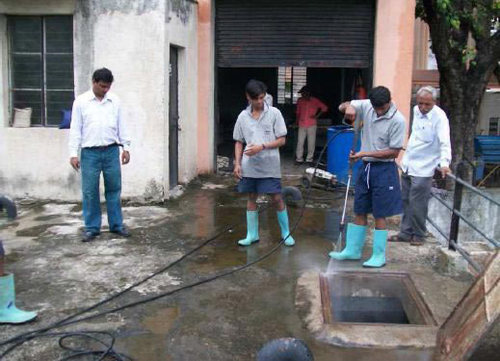 Water Cleaning Services : Water tank cleaning services in bhopal madhya pradesh