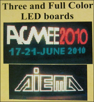 Full Color Led Boards
