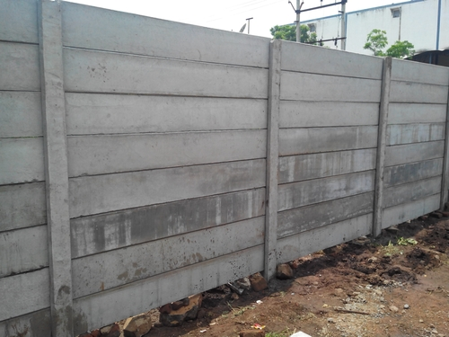 Readymade concrete boundary wall in rajkot gujarat india trisul cement product - Readymade partition walls ...