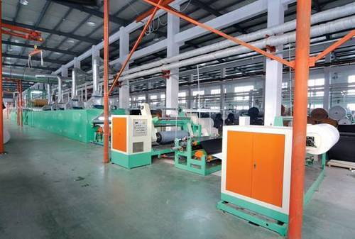 Pu And Pvc Dry Synthetic Leather Machine