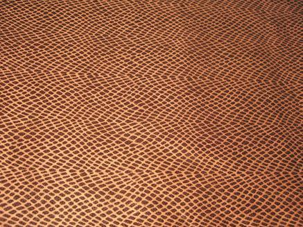 Embossed Suede Knitted Fabric
