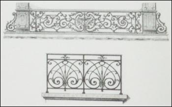 Designer balcony grill in jaipur rajasthan india for Balcony grills enclosure designs in india