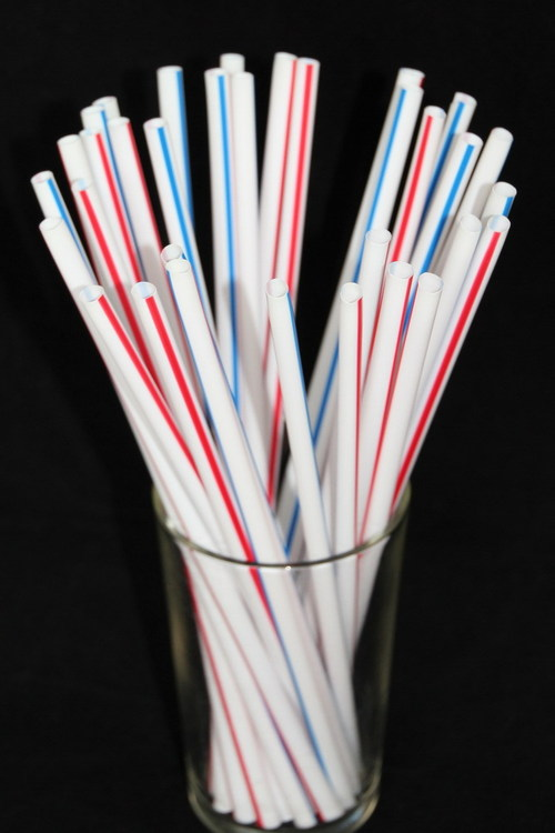 Multi Color Dairy Straws