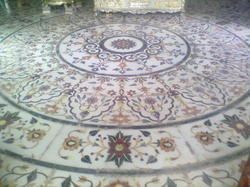 Marble Inaly Work Flooring