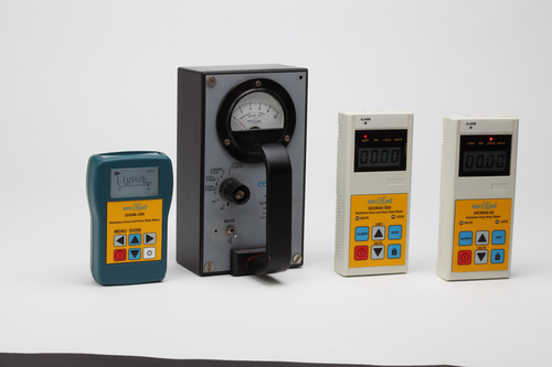 Digital Radiation Dose And Dose Rate Meter