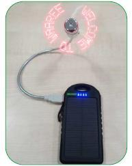 USB Message Fan