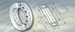 Axial Deep Groove Ball Bearings 250X250