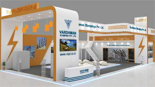 Exhibition Stall Branding : Exhibition stall design bpe in makarpura vdr