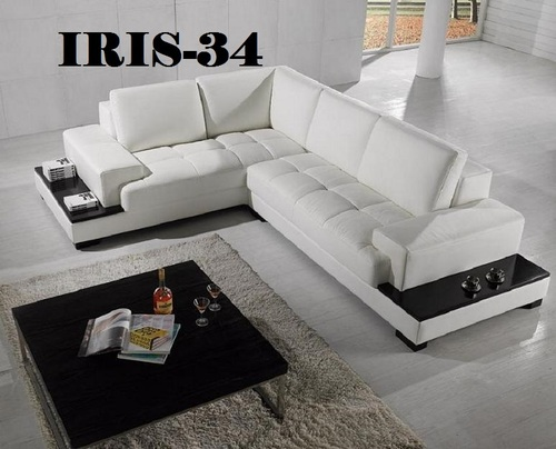 L Shape Designer Sofa Set Iris 34 In Jogeshwari W