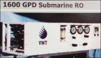 1600 GPD Submarine RO System