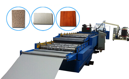 Pu Decorative Plate Foaming Production Line