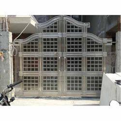 Designer Stainless Steel Main Gate In Faridabad Haryana