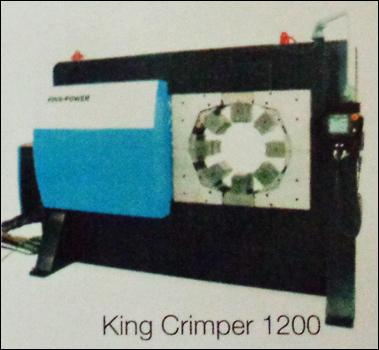Heavy Duty Crimping Machine (King Crimper 1200)