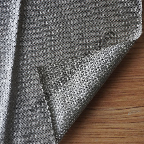 100% Pure Silver Coated Polyamide Mesh Fabric