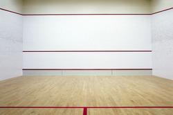 Wooden Flooring Squash Court