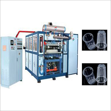 Plastic Glass Making Machines