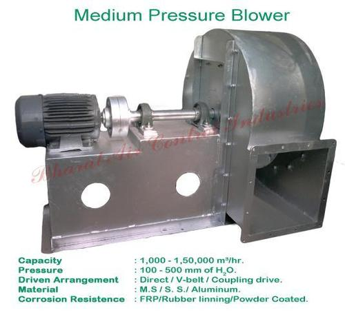 Medium Pressure Centrifugal Blower : Medium pressure centrifugal blower in mumbai maharashtra
