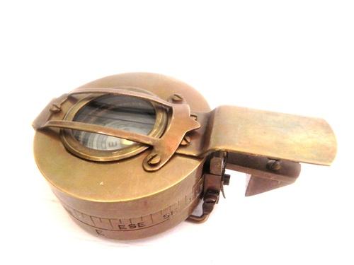 Brass Military Compass