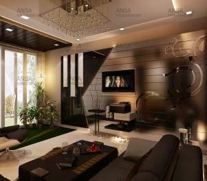 Customized Drawing Room Interior Designing Services In