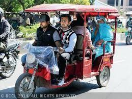 Special Purpose Battery Operated Auto E-Rickshaw