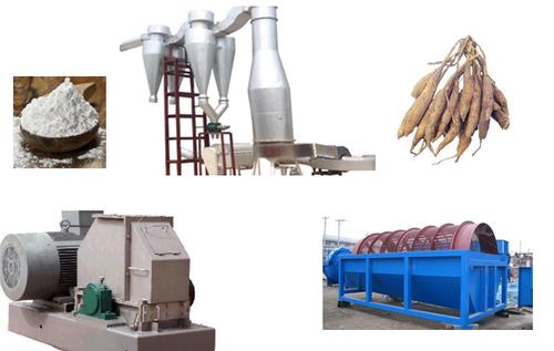Factory Price Cassava Starch Processing Line