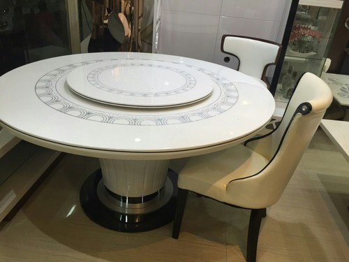 Round Marble Dining Table In Kirti Nagar New Delhi Delhi India MUEBLERIA