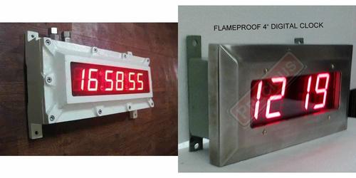 Digital Flameproof Clocks