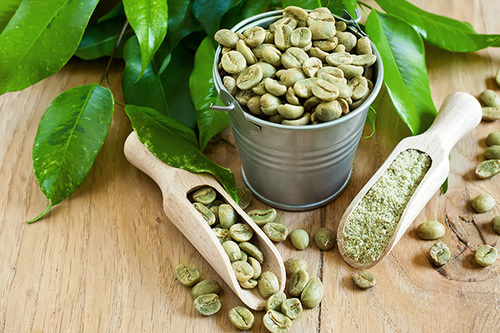 Fat Burner Green Coffee Beans