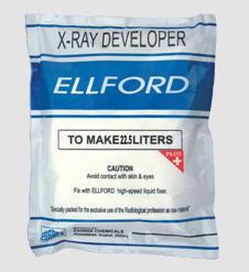 Ellford X - Ray Film Developer And Fixer