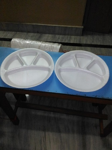 Disposable Thermocol Food Plates