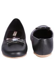 Stylish Black Ballerina Shoes