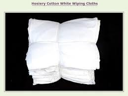 Cotton White And Colour Wiping Cloth
