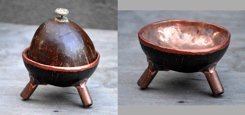 Exclusively Handcrafted Coconut Shell Ashtray