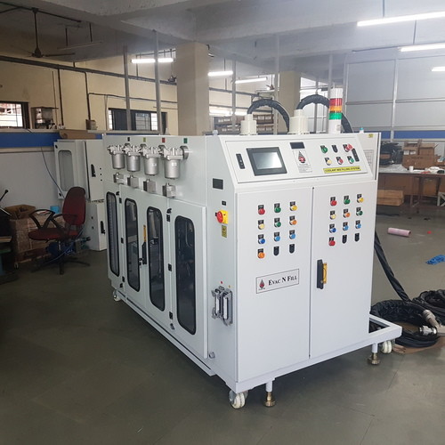 EVAC And Fill Liquid Dispensing System