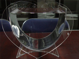 Heart-Shaped Aquarium