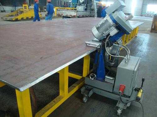 Metal Plate Processing Machine
