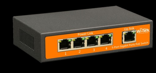 5-Port 48v Gigabit Ports Poe Switch With 4-Port Poe Wi-Ps305g