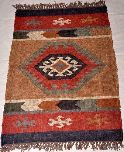 Handmade Wool Jute Rug Rags